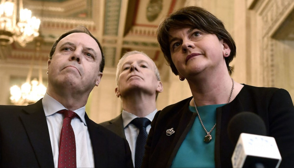For The DUP A Hard Border Is The Very Definition Of Brexit