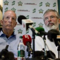 The Bomb Attacks On The Homes Of Gerry Adams And Bobby Storey
