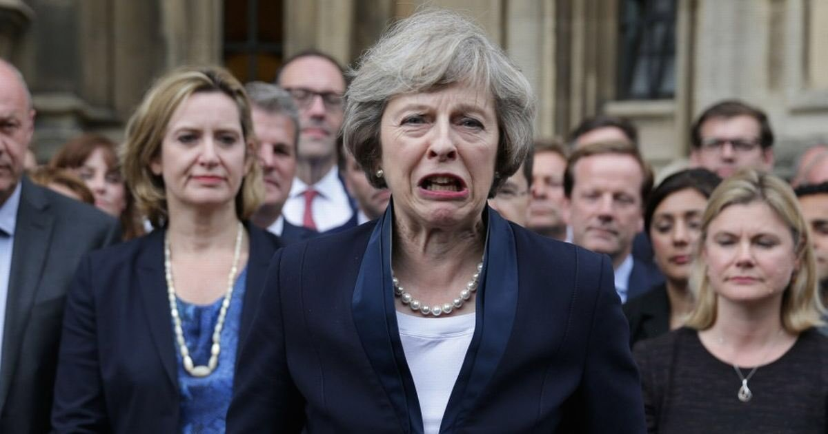 """UK's Theresa May Claims """"Legally Binding Changes"""" To Unchanged Backstop"""