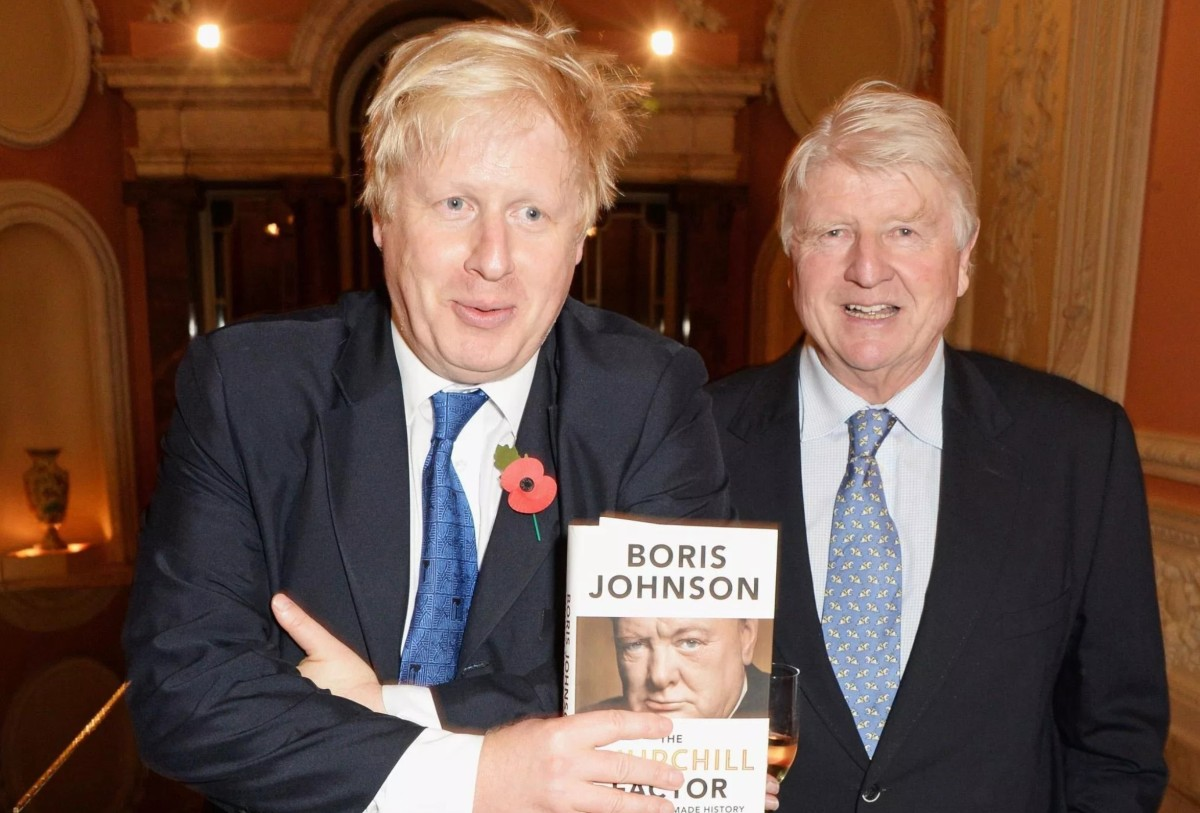 Boris Johnson's Father On A Hard Border: The Irish Shoot Each Other, That Is Something They Do