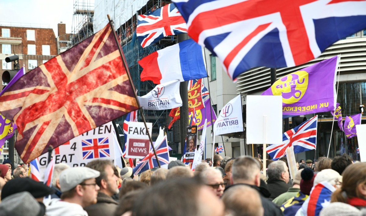 UKIP's Brexit Betrayal March In London, A Far-Right Rally By Any Other Name