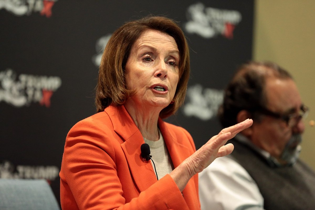 Nancy Pelosi Warns Britain: Do Not Harm The Good Friday Agreement