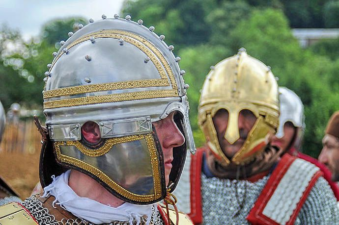 Irish Iron Age And Medieval Helmets
